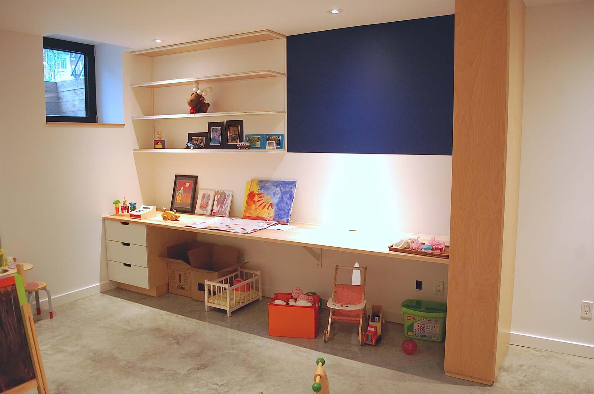 amenagement sous sol matpel. Black Bedroom Furniture Sets. Home Design Ideas