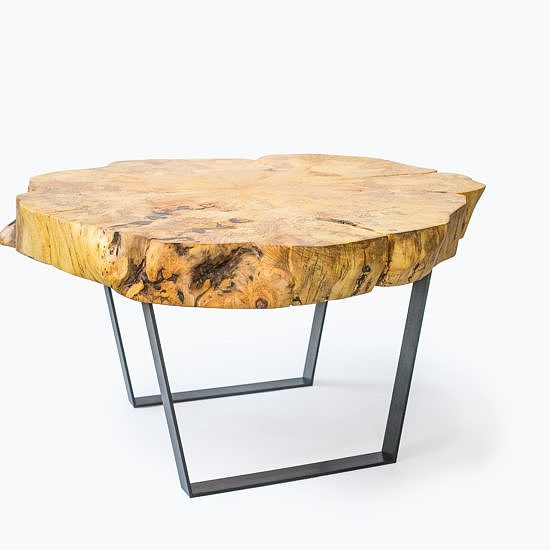Table-basse-rondelle-slab-mobilier-montreal