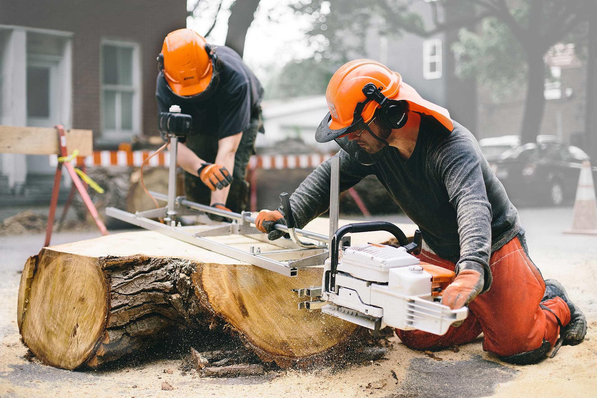 Projet SLAB: de l'arbre jusqu'au meuble